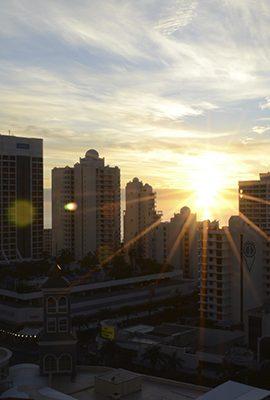 Romantic Gold Coast Sunset