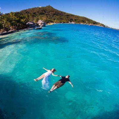 Romantic Photoshoot in Bora Bora