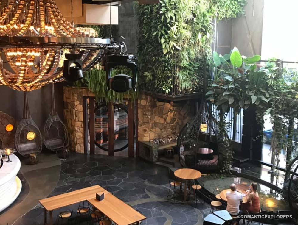 Romantic Restaurant Cloudland in Brisbane