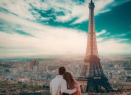 Couple in Romantic Paris