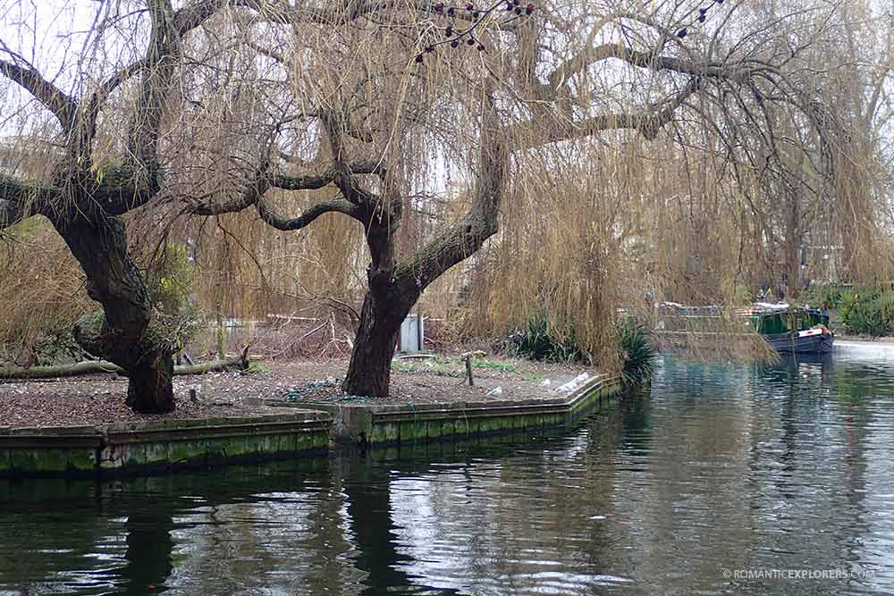 A glimpse of Little Venice in London
