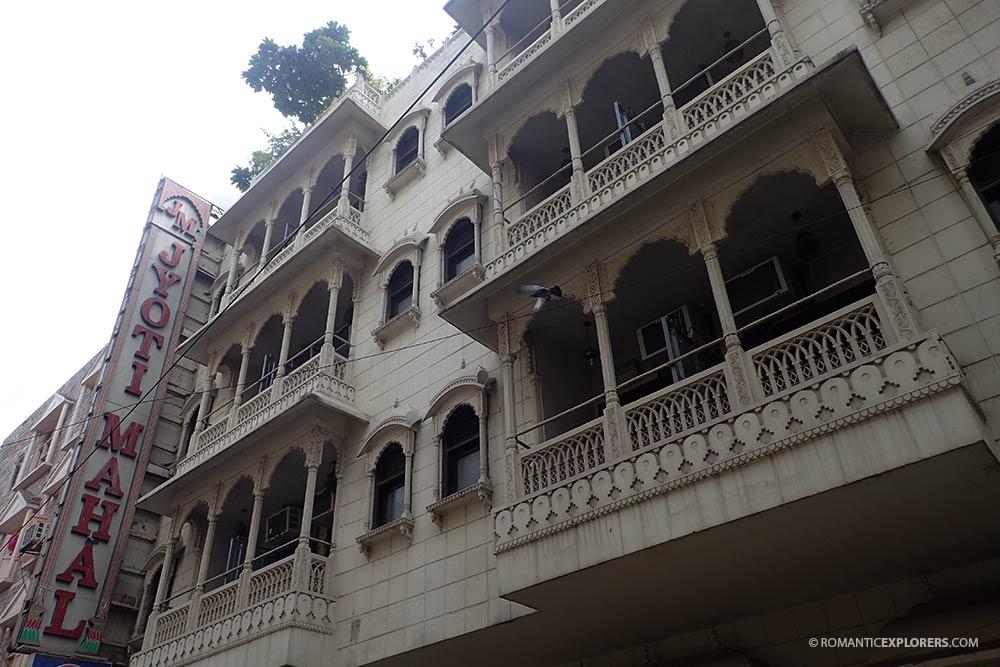Jyoti Mahal Hotel outside