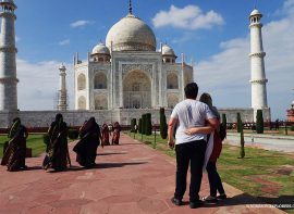 One of the most romantic things to do in India is visit the Taj Mahal - a monument with a love story.