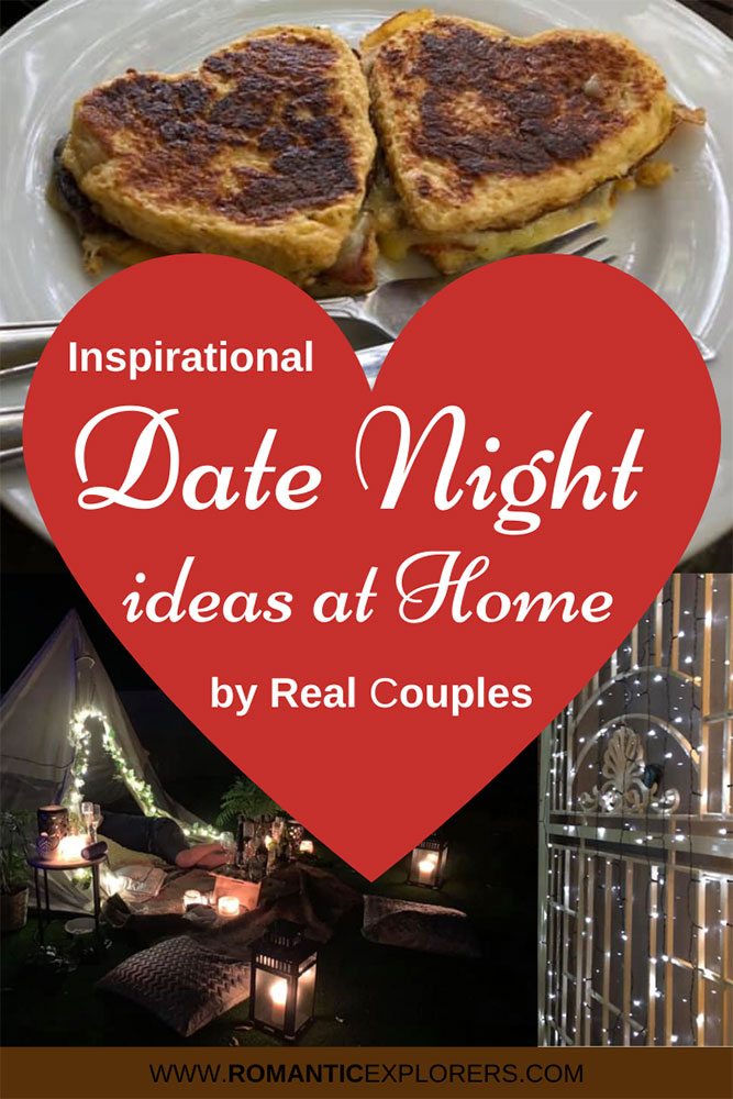 Date Night Ideas at Home Pinterest pin