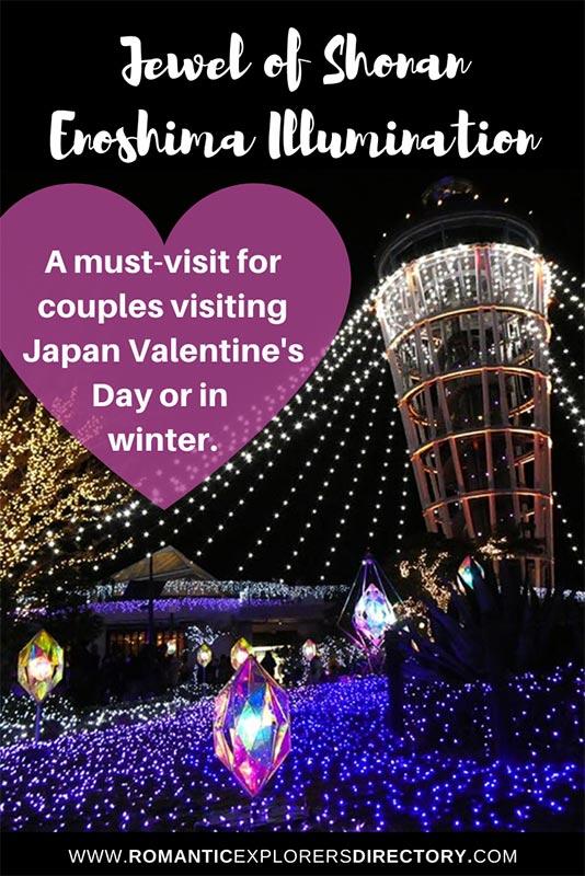 Jewel of Shonan Enoshima Illumination Japan Valentines Day