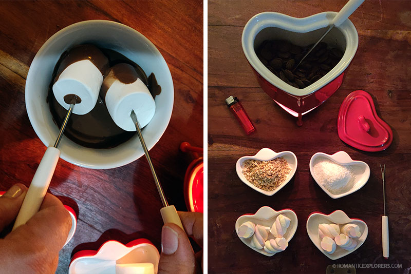 Easy Chocolate Fondue Date Night at Home