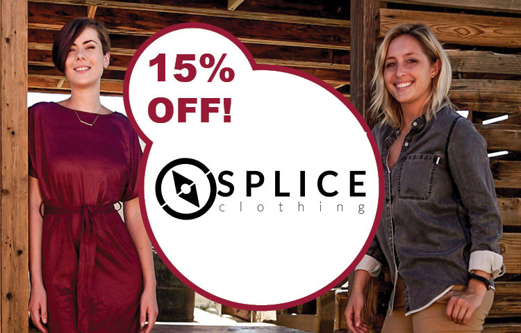 Romantic Explorers Exclusive Discount for Splice Clothing Coupon Code