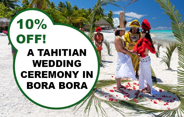 Tahitian Wedding Ceremony in Bora Bora