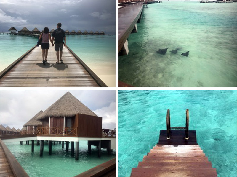 Maldives Overwater bungalow review Mercure Maldives Kooddoo resort all inclusive