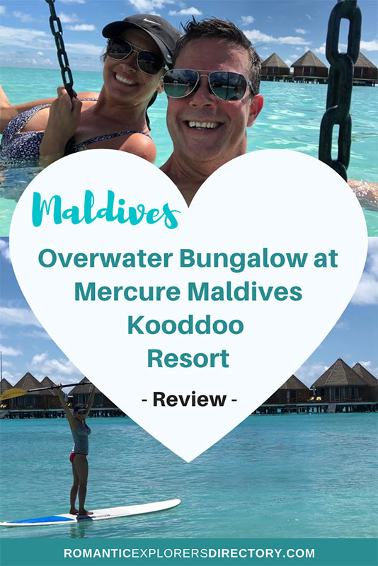 Maldives Overwater bungalow Experience at Mercure Maldives Kooddoo resort all inclusive