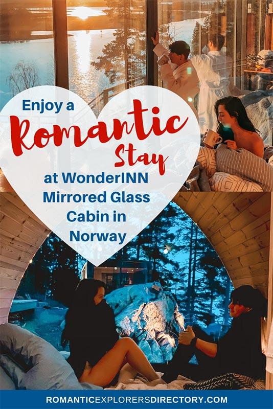 The WonderINN Mirrored Glass Cabin Wonderinn Norway