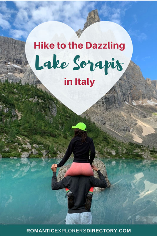 Hike to Lake Sorapis or Lago di Sorapis