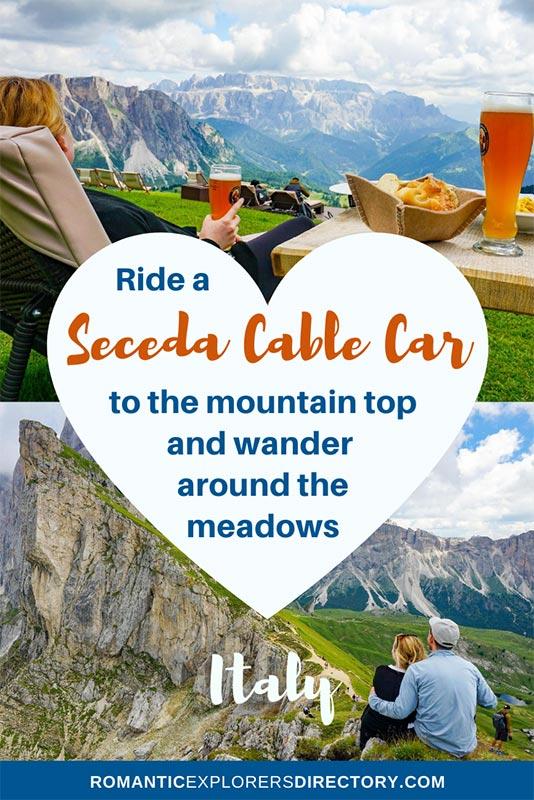 Ride a Seceda Cable Car