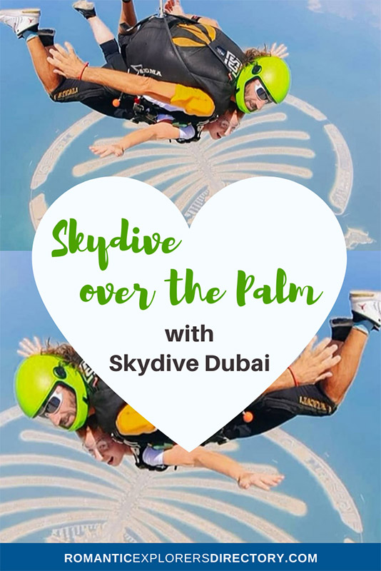 Skydive Dubai Skydiving over the Palm