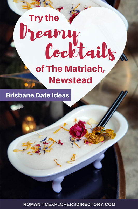 Try the Dreamy Cocktails of The Matriarch in Newstead