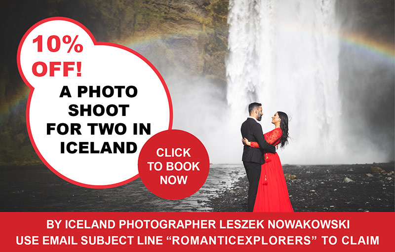 Iceland Couple Photoshoot Discount