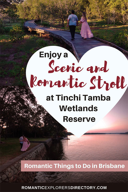 Enjoy a scenic and romantic stroll at Tinch Tamba Wetlands Reserve.