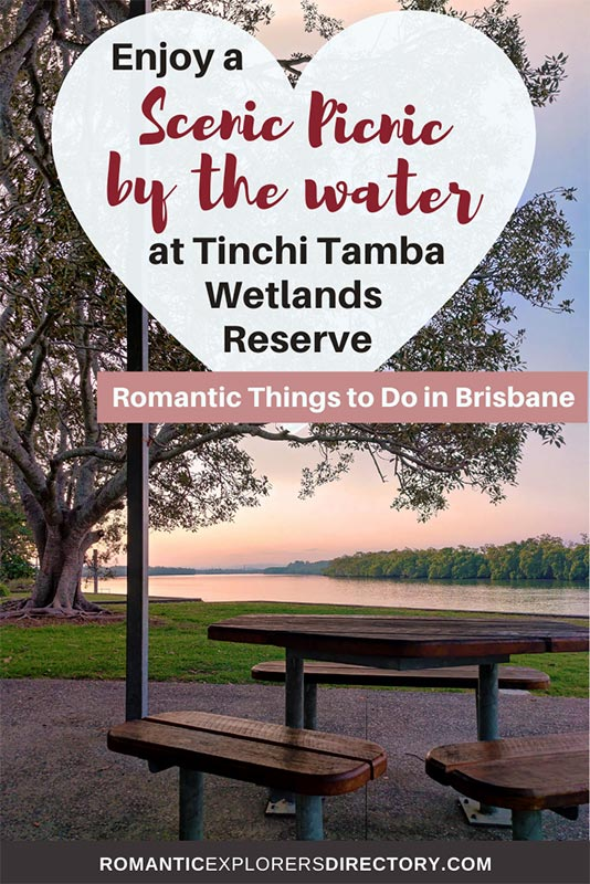 Best picnic spot Brisbane couples can enjoy at Tinchi Tamba Wetlands Reserve.