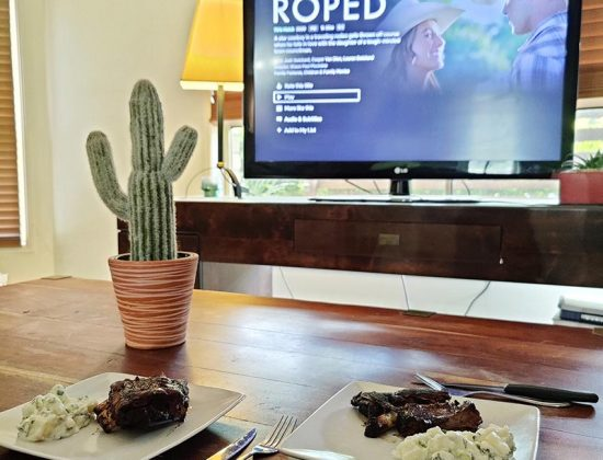 Destination Themed Movie and Meal Date Night at Home