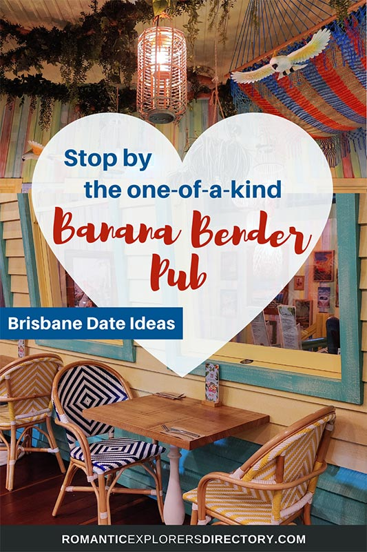 Stop by the one-of-a-kind Banana Bender Pub