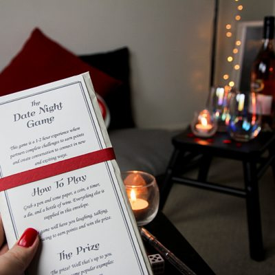 Date Night Games to Play at Home by The Puzzlemaker