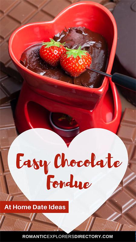 Easy Chocolate Fondue Date Night