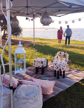 Done-for-you Romantic Picnic Setup