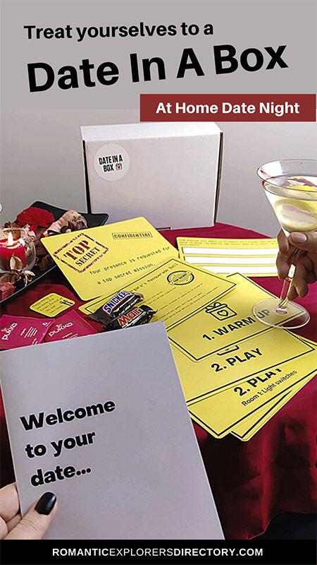 Try a Date in a Box at Home date Night delivered to your door