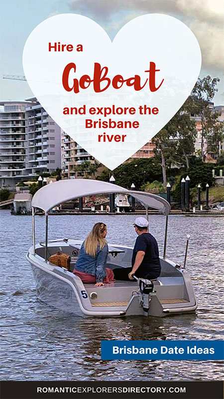 Hire a GoBoat and explore the Brisbane river.