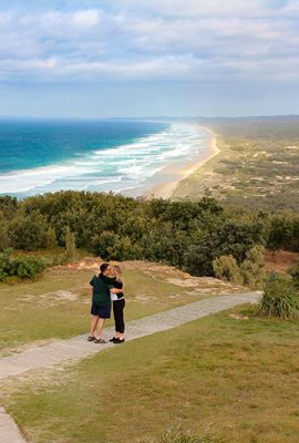 Visit Cape Moreton Lighthouse for some of the best views on the island.