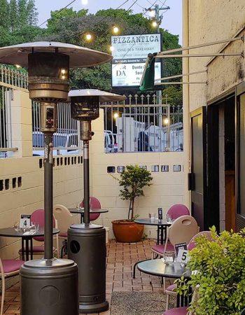 Share a Heart-shaped Italian Pizza at Pizzantica Romantic Italian Restaurant