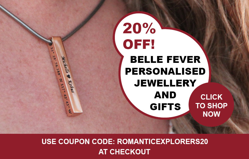 Romantic Explorers Discount Code Belle Fever